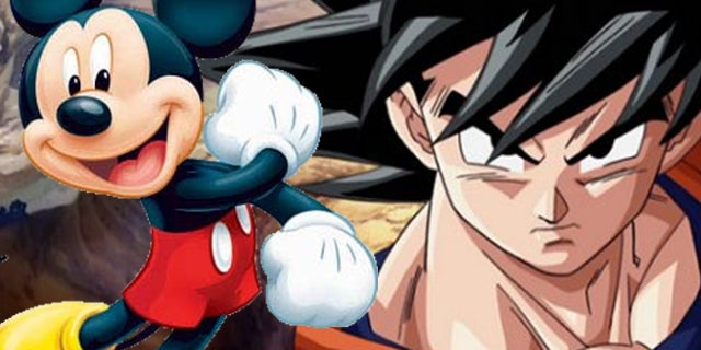 dragon ball disney