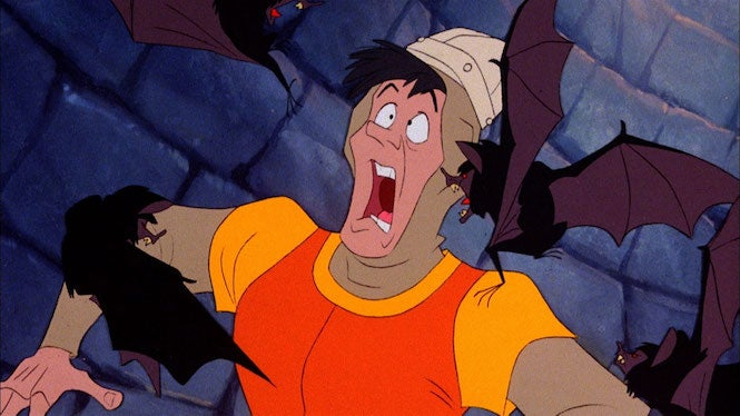 Dragon S Lair Trilogy Playstation 4 Review Blasts From