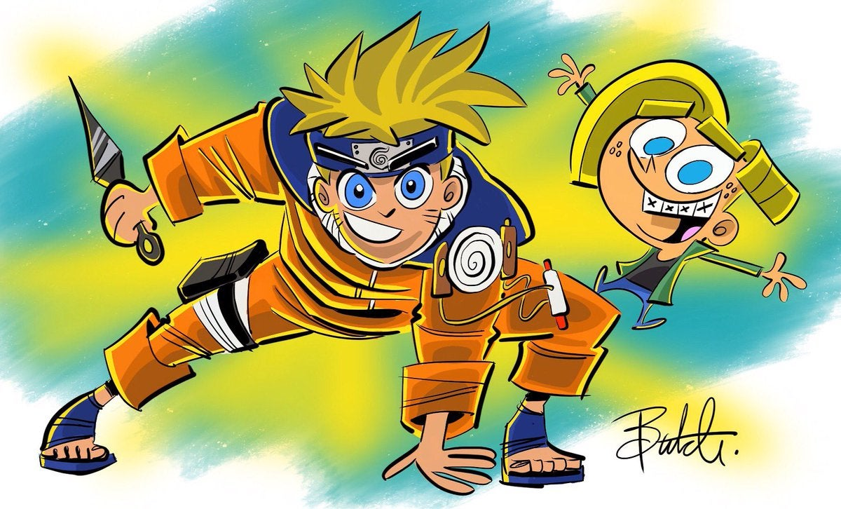 u0026 39 fairly oddparents u0026 39  creator shares  u0026 39 naruto u0026 39  crossover