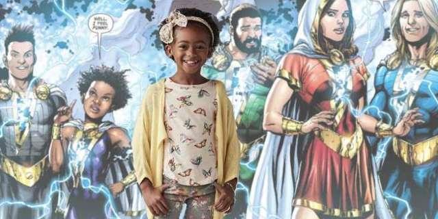 Faithe Herman in Shazam Movie Darla Dudley