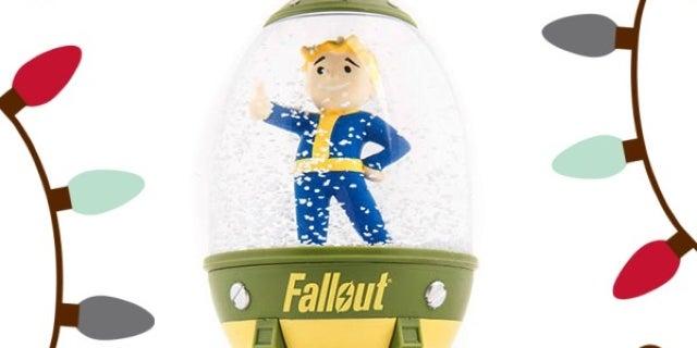 fallout vault boy snow