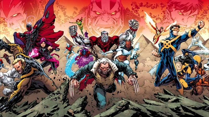 Fox Disney X-Men Comics