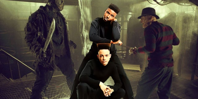 fredy vs jason kid n play horror movie
