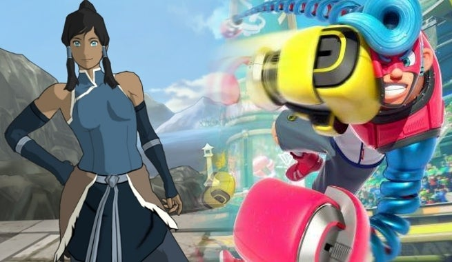the legend of korra and nintendo s arms included in free comic book