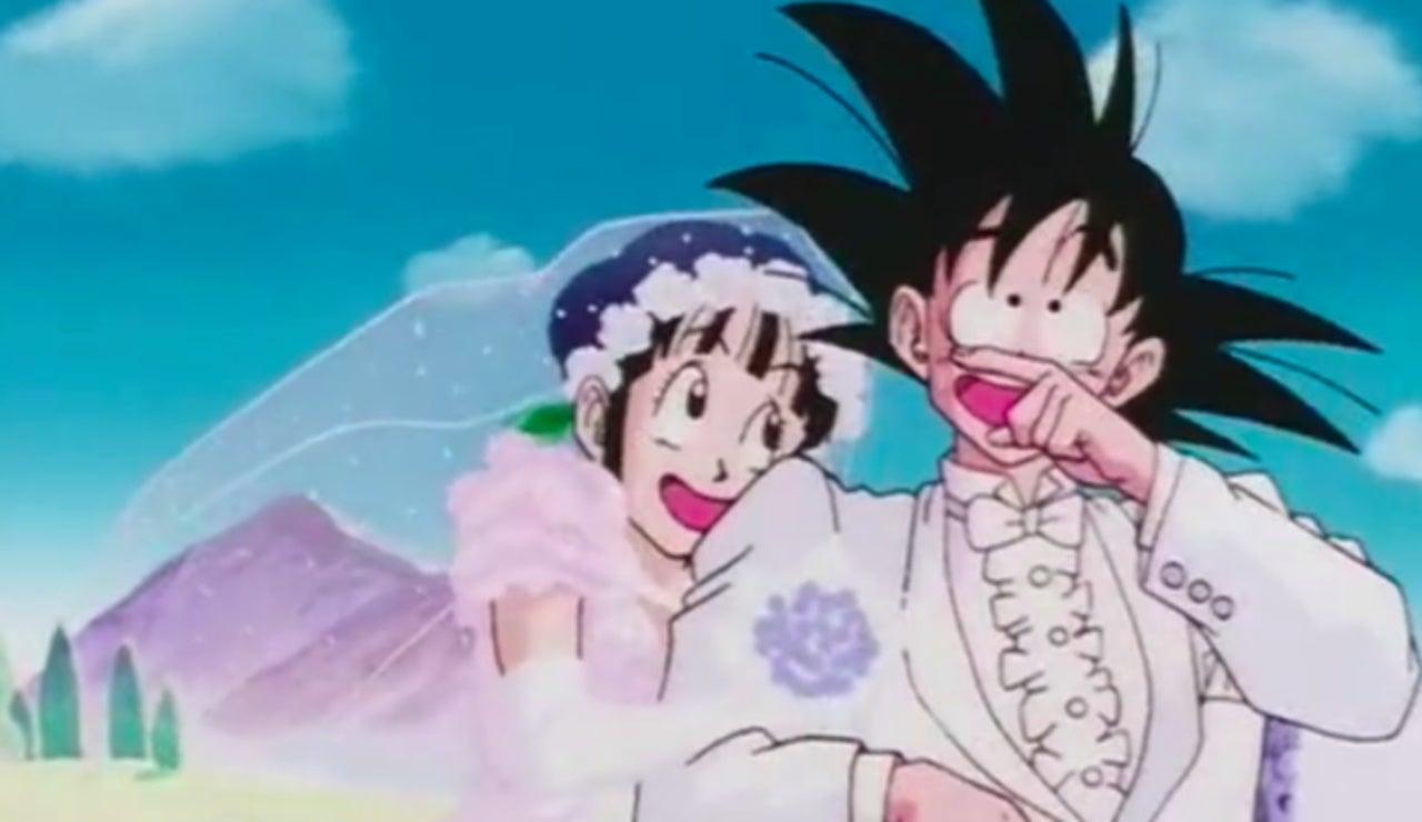 New \'Dragon Ball\' Merch Shows Off Goku And Chi-Chi\'s Wedding