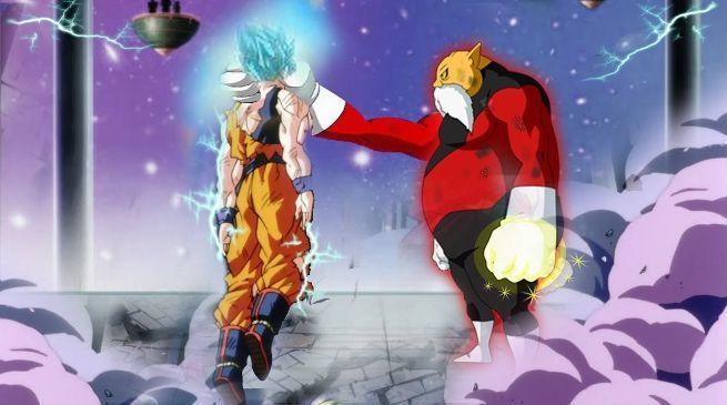 Goku vs Toppo God of Destruction