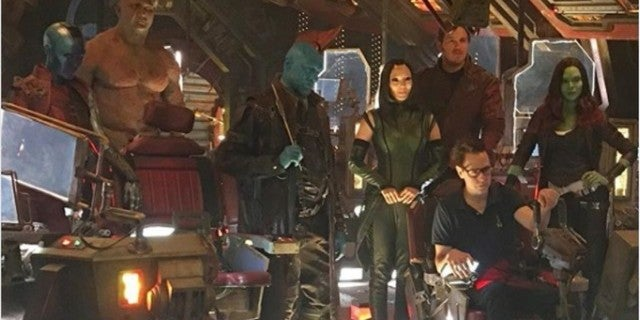 Guardians of the Galaxy 2 BTS