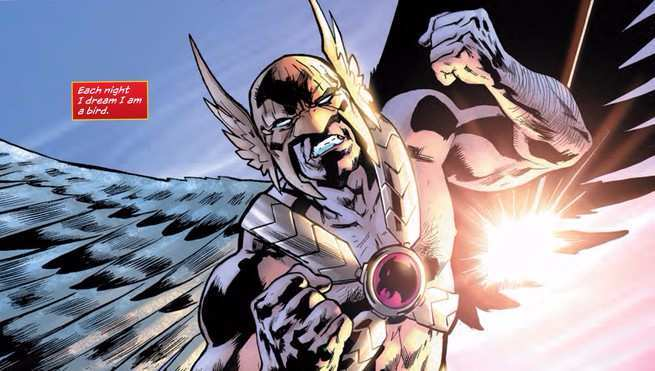 Hawkman Found Review - Flying