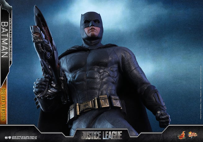 Hot Toys - Justice League - Batman Collectible Figure (Deluxe) PR14