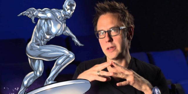 James Gunn Silver Surfer