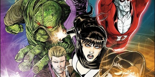 Justice League Dark Guillermo Del Toro