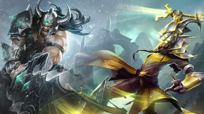 League of Legends Mastery Yi Tryndamere