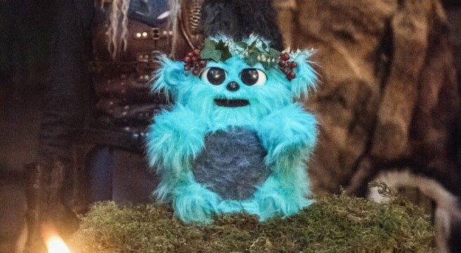 legends of tomorrow beebo the god of war