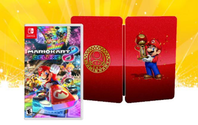Mario Kart 8 Deluxe Gets A Beautiful Steelbook Case