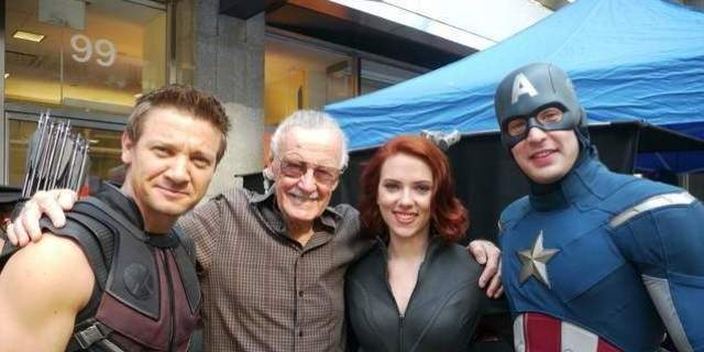 Marvel Avengers Stars Celebrate Stan Lee 95th Birthday