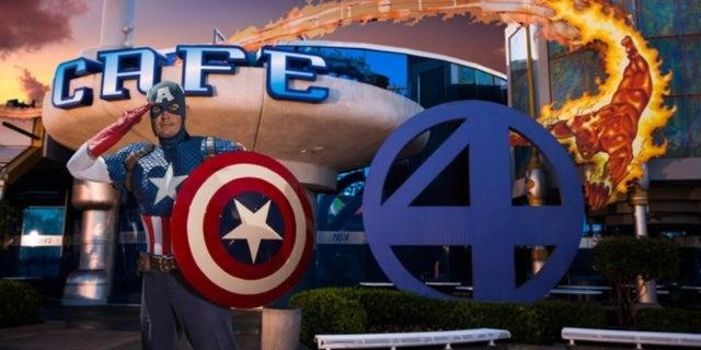 Marvel Character Dinner Universal Orlando