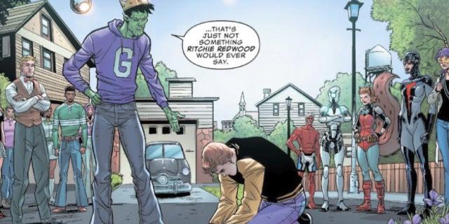 marvel comics archie comics us avengers riverdale