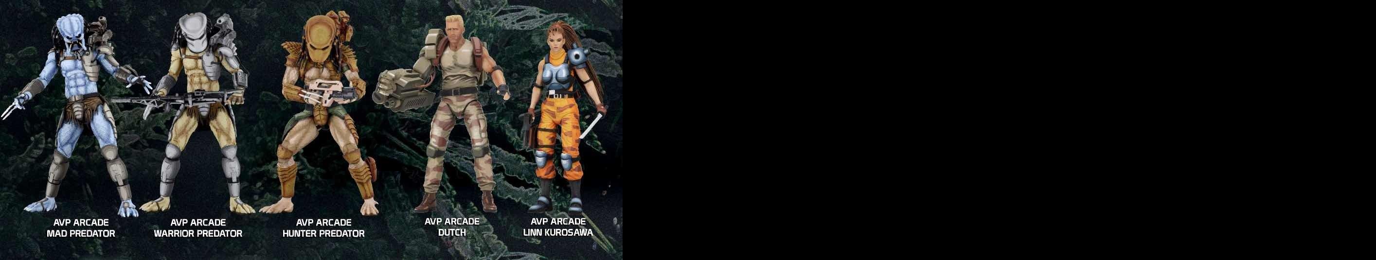 Neca Toys Teases Crash Bandicoot Alien Vs Predator Arcade Figures