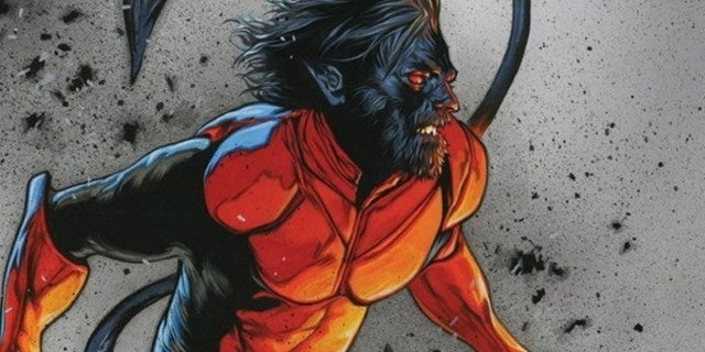 Nightcrawler X-Men Red