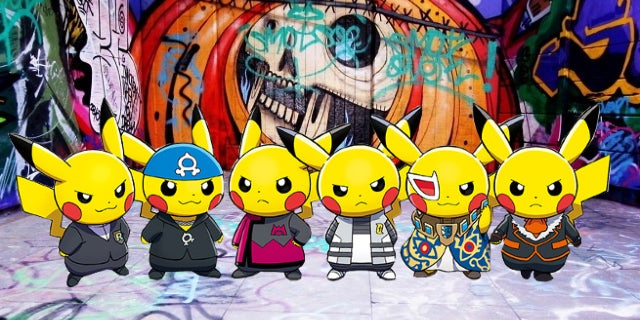 pikachu evil header