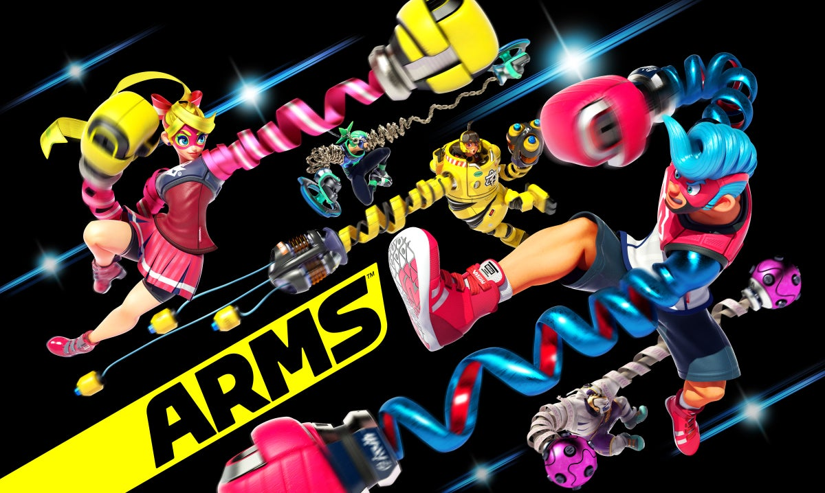 arms character artwork