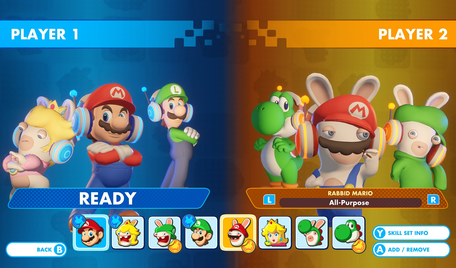 Mario + Rabbids Kingdom Battle is getting a two-player versus mode