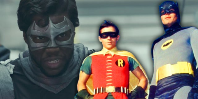 saturday night live batman and robin captain shadow kevin hart