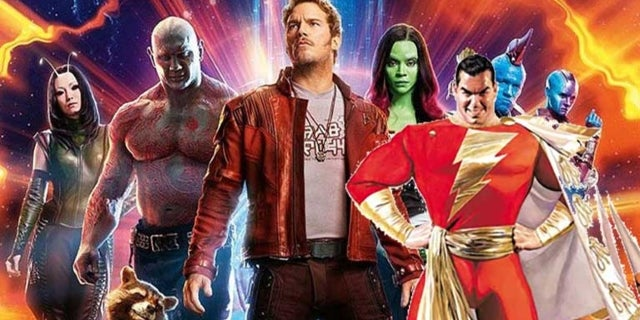 shazam guardians of the galaxy