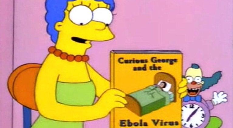 simpsons ebola