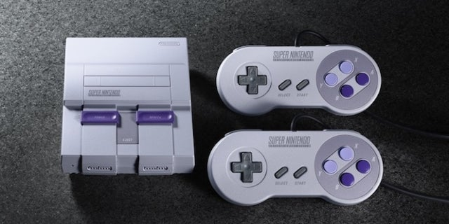 SNES Classic gamestop Bundle