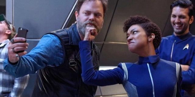 Star Trek Discovery Behind the Scenes Photos