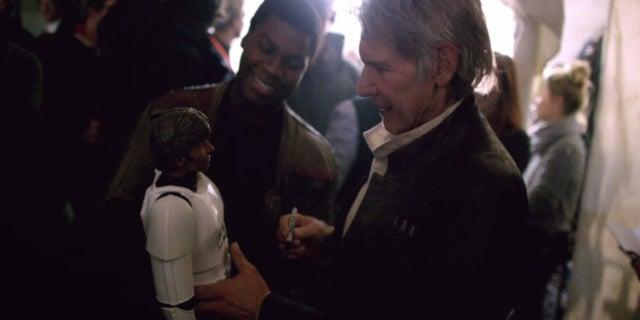 Star Wars John Boyega Harrison Ford