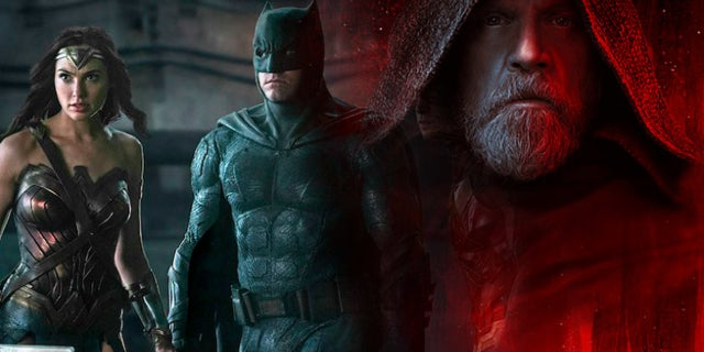 'Justice League' Has A Higher Audience Score Than 'Star Wars: The Last Jedi'