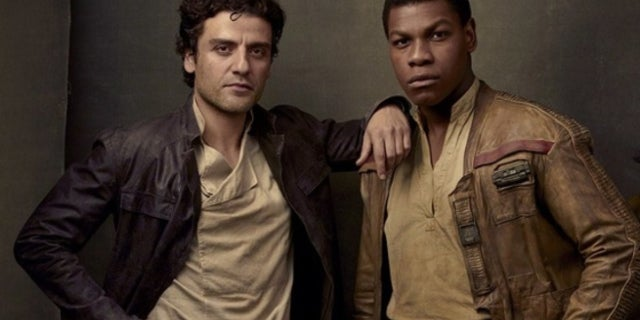 Star Wars Last Jedi Poe and Finn