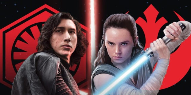 Star Wars Rey Kylo Ren