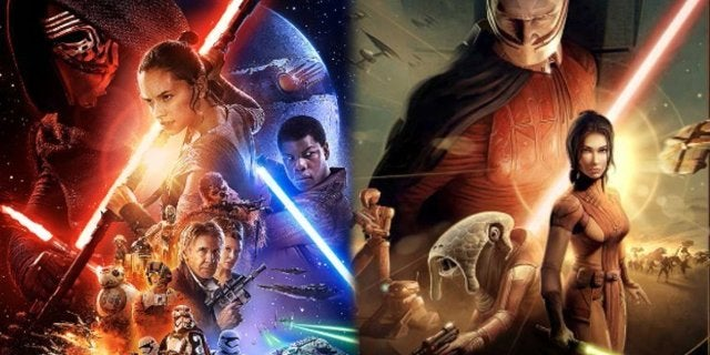 Star Wars The Force Awakenes Knights of the Old Republic