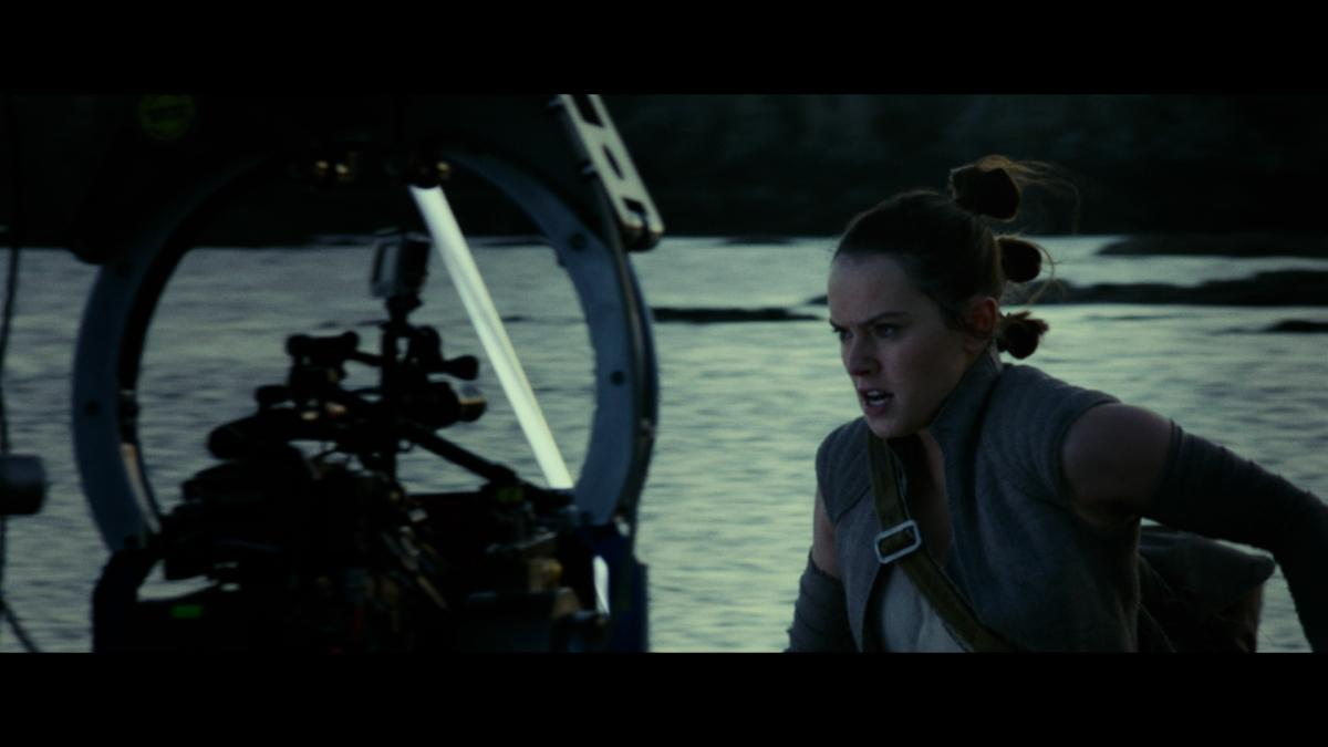 star wars the last jedi daisy ridley rey behind the scenes