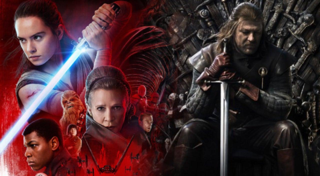 Resultado de imagen para star wars y game of thrones
