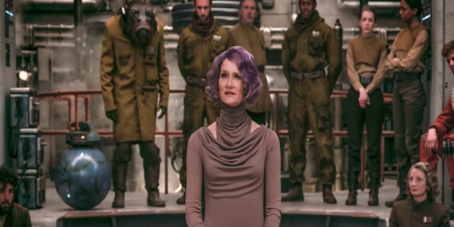 Star Wars The Last Jedi Holdo Laura Dern
