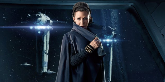 Star Wars The Last Jedi Leia Carrie Fisher