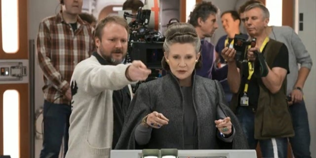star-wars-the-last-jedi-rian-johnson-carrie-fisher-writing