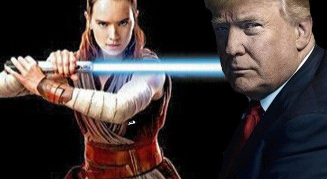 Stars Wars Last Jedi Political Trump Politics