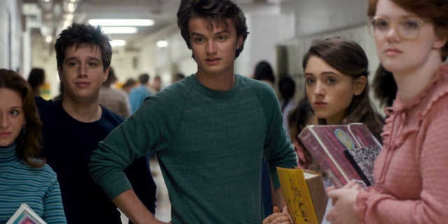 stranger things joe keery steve hair barb