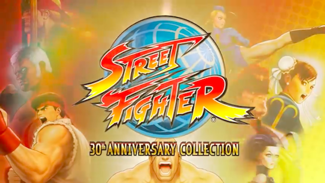 Street Fighter 30th Anniversary Collection out in 2018