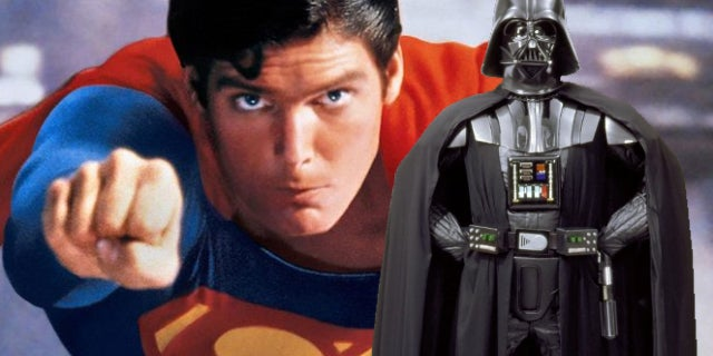 superman christopher reeve darth vader