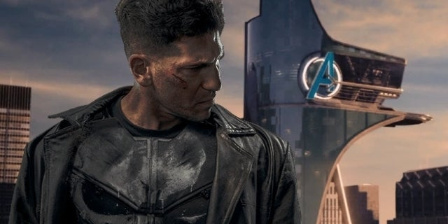 the punisher avengers tower