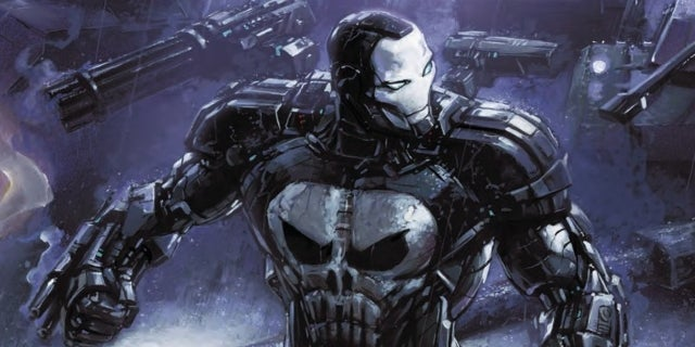 New Look At The Punisher's War Machine Armor