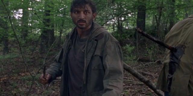 The Walking Dead Siddiq Avi Nash