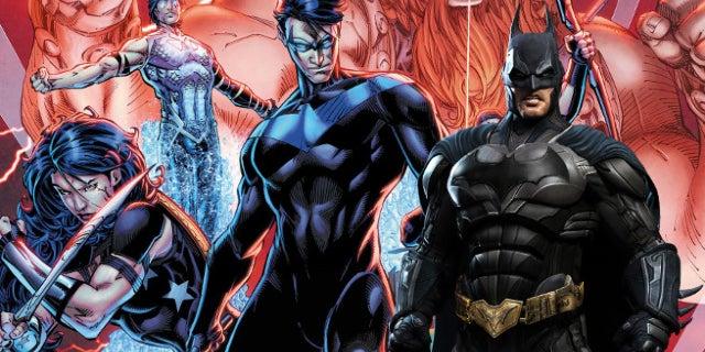 titans dc batman