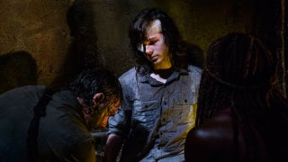 TWD Carl Dying Sewers  808